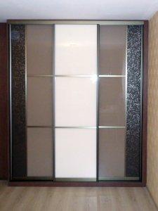 Шкафы-купе с кожей - фото - 21438