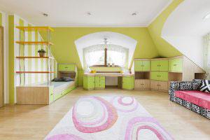 Зеленая и салатовая детская мебель - фото - 23138
