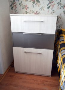 Бежевая и желтая мебель - фото - 23154