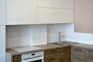 Кухни с ручками скобами - фото - 23156