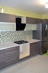 Кухни с ручками скобами - фото - 23161