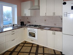 Желтые и бежевые кухни - фото - 23254