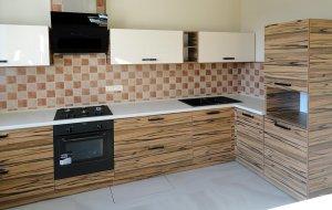 Кухни с ручками скобами - фото - 23258