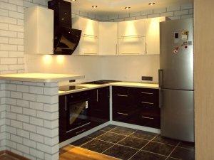 Кухни с барной стойкой - фото - 23259