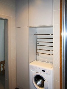 Бежевая и желтая мебель для ванной - фото - 23276