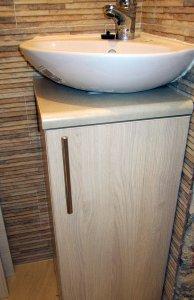 Бежевая и желтая мебель для ванной - фото - 23278