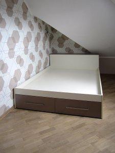 Кровати и спальни цвета венге - фото - 23295