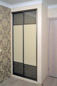 Шкафы-купе с зеркалом бронза - фото - 23331
