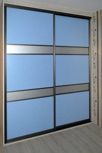 Синие шкафы-купе - фото - 23337