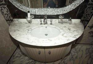 Классическая мебель для ванной - фото - 23381