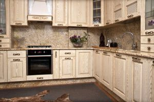 Желтые и бежевые кухни - фото - 23383