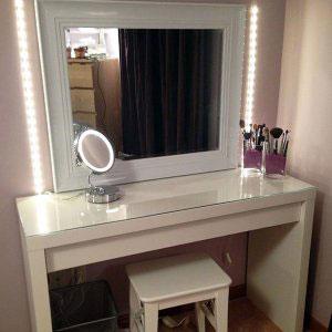 Туалетный столик с зеркалом - фото - 23408