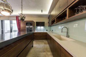 Кухни из шпонированного МДФ - фото - 23413