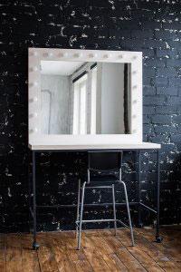 Туалетный столик с зеркалом - фото - 23431