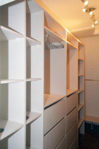 Гардеробные комнаты - фото - 23455