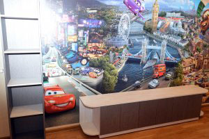 Детская мебель цвета венге - фото - 23547
