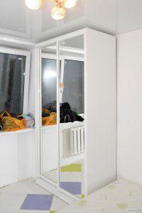Шкафы-купе с зеркалом - фото - 23638