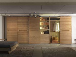 Шкафы-купе с большим количеством дверей - фото - 29695