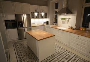 Кухни с ручками кнопками - фото - 30180