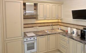 Желтые и бежевые кухни - фото - 31113