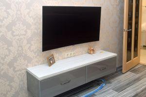 Классические тумбы под телевизор - фото - 31118