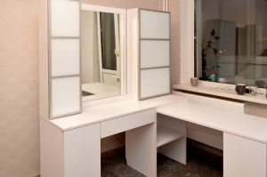 Белые туалетные столики - фото - 31120