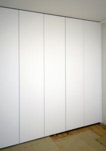 Современные распашные шкафы - фото - 31123