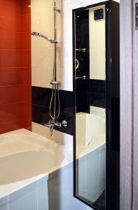 Черная мебель для ванной - фото - 31162