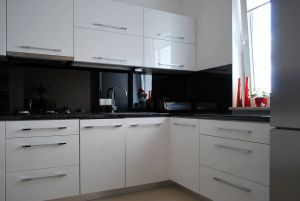 Кухни с ручками скобами - фото - 31421