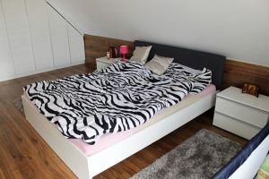 Белые кровати и спальни - фото - 31453