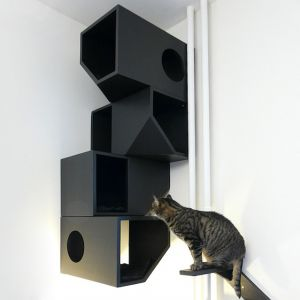 Черная мебель для животных - фото - 31476