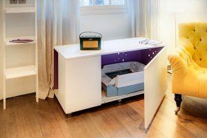 Белая мебель для животных - фото - 31479
