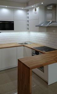 Кухни с барной стойкой - фото - 31659