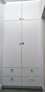 Шкафы распашные с фасадами из МДФ пленочного - фото - 31685