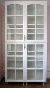 Шкафы распашные с фасадами из МДФ пленочного - фото - 32765