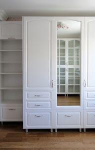 Шкафы распашные с фасадами из МДФ пленочного - фото - 32767