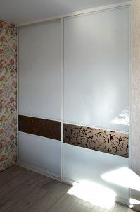 Шкафы-купе с зеркалом бронза - фото - 32781