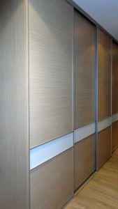 Шкафы-купе с большим количеством дверей - фото - 32784