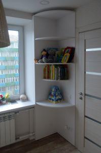 Белая детская мебель - фото - 32933