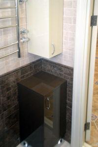 Черная мебель для ванной - фото - 33077