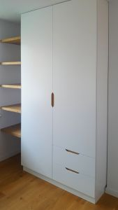 Распашные шкафы в гостиную - фото - 33313