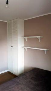 Шкафы распашные с фасадами из массива  - фото - 33327