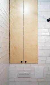 Бежевая и желтая мебель для ванной - фото - 33539