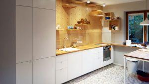 Кухни с ручками кнопками - фото - 33649