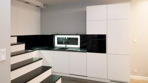 Кухни с интегрированными ручками - фото - 33652