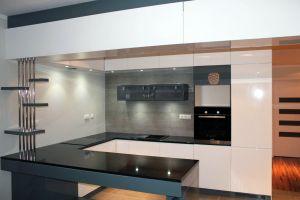 Кухни с барной стойкой - фото - 33653