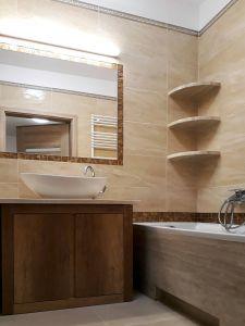 Мебель для ванной цвета венге - фото - 34715
