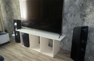 Белые тумбы под телевизор - фото - 34892