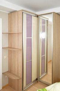 Шкафы-купе с зеркалом - фото - 34921