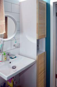 Мебель для ванной цвета венге - фото - 34946